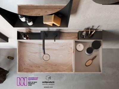 Architecture Masterprize + ADA 2020 — Lavabi Compact Living
