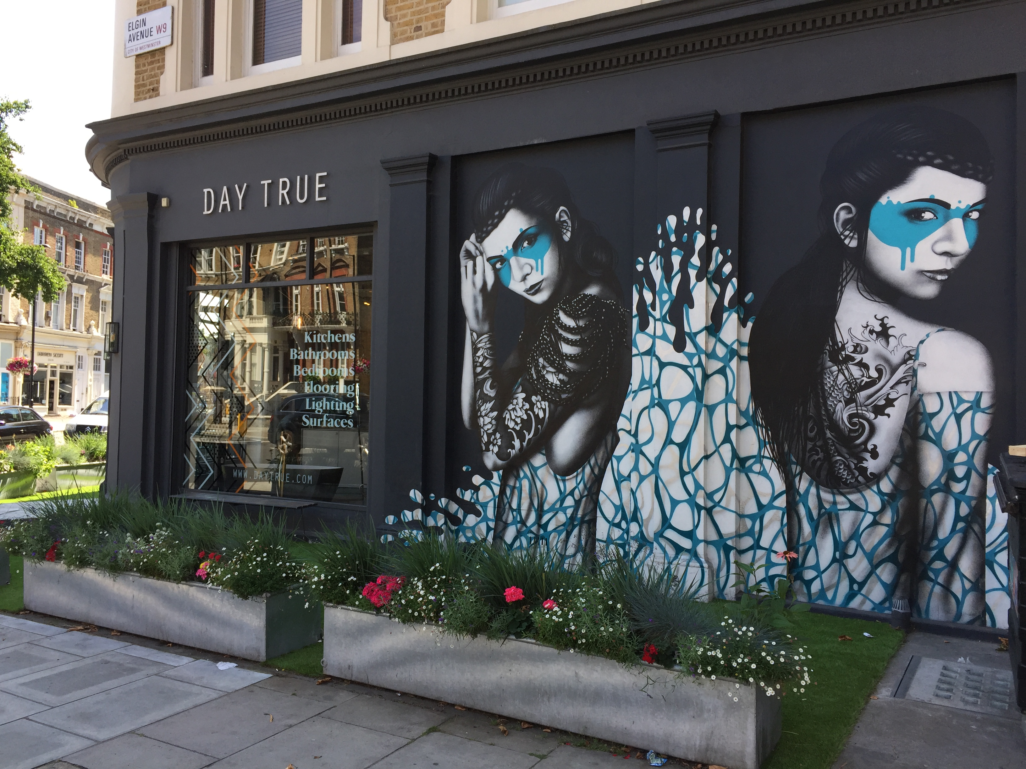 DAY TRUE AND REXA DESIGN IN MAIDA VALE - LONDON