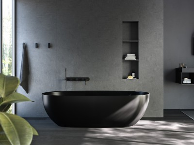 The colour of shapes — Coloured bathtubs