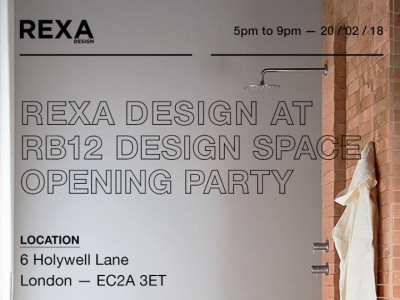 Rexa Design @ RB12 Design Space and Concept Store