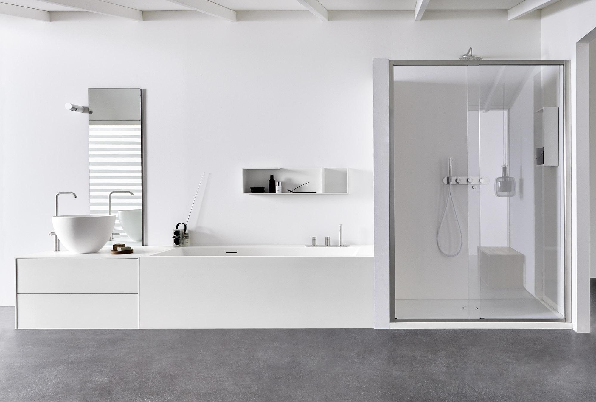 Gruppo doccia con doccino for Gruppo doccia